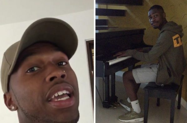 Daniel Sturridge and Dave Linked up in LA and Dropped an Unexpected Remix of 'Samantha'