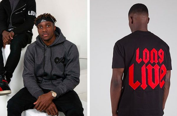 Wilfried Zaha Just Dropped a New Collection from His 'Long Live Studios' Brand