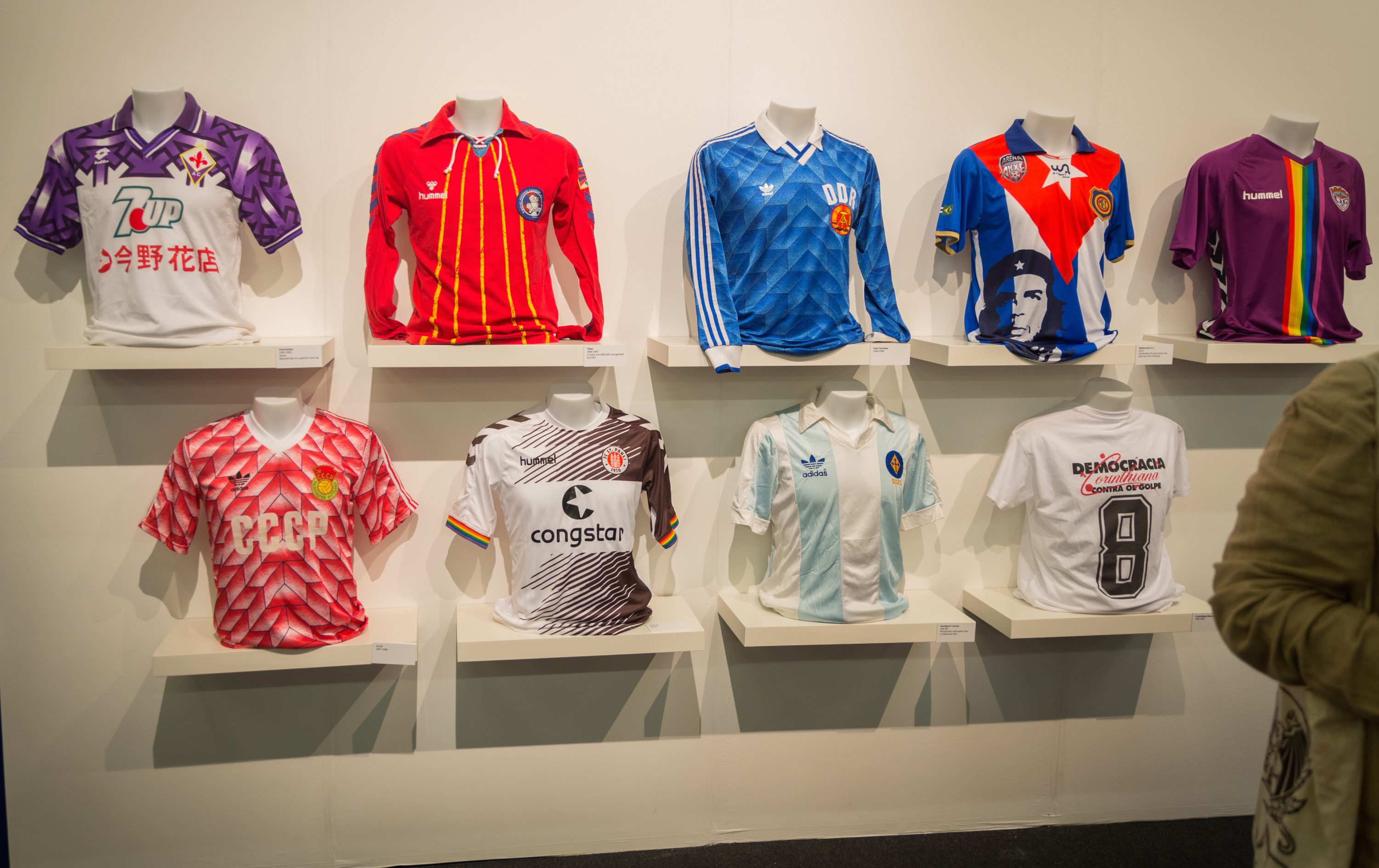 The Art of the Football Shirt: a Journey Through History, Design and Pop Culture