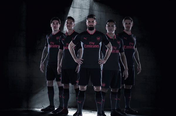 PUMA Unveil Arsenal's Third Kit for 2017/18