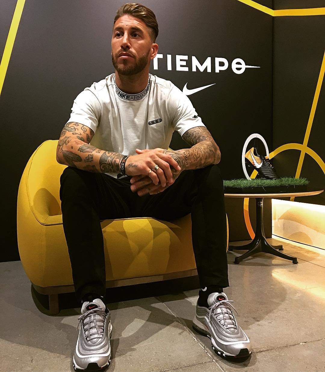 sneakers for cheap 5aeb0 41906 Why Sergio Ramos Might Actually Be the Biggest Sneakerhead ...