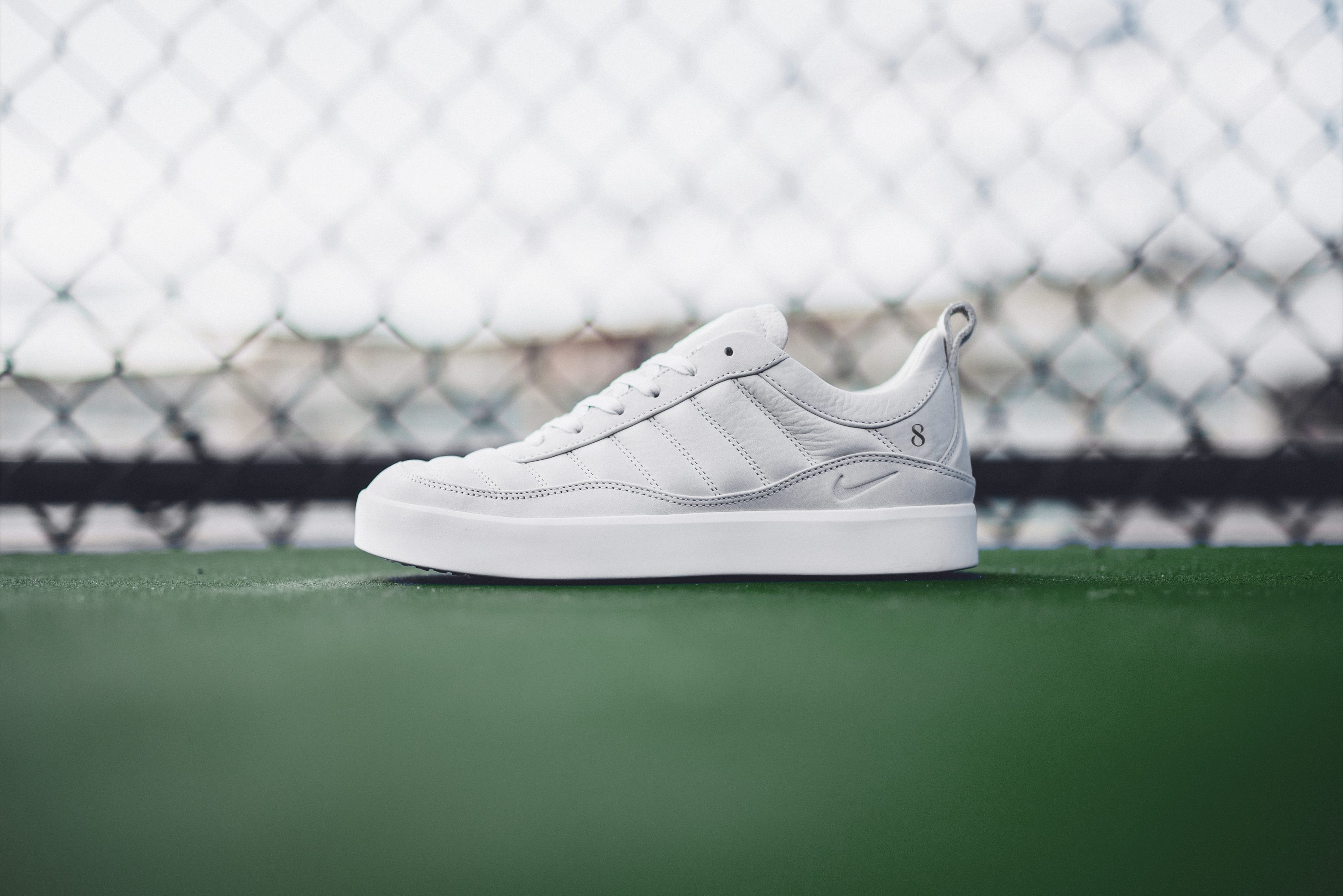 afac294b2b43fe ... NIKELAB Oscillate Evolve RF shoes (the style pays homage to 1997 s  Tinker Hatfield-designed Nike Air Oscillate