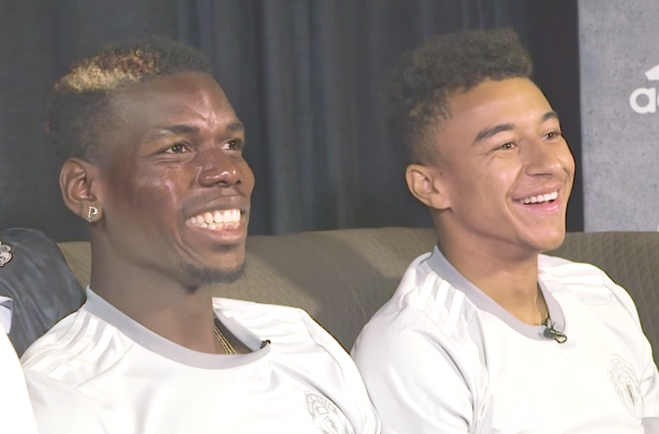 "Paul Pogba and Jesse Lingard Sit Down with Poet & Vuj in the Newest Episode of ""FIFA & Chill"""
