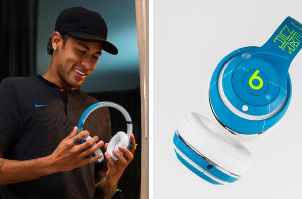 Neymar Jr. Debuts His Custom Beats by Dre Headphones