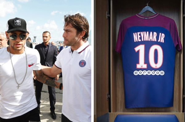The Real Reason Why Neymar Was Given the Number 10 Shirt at PSG