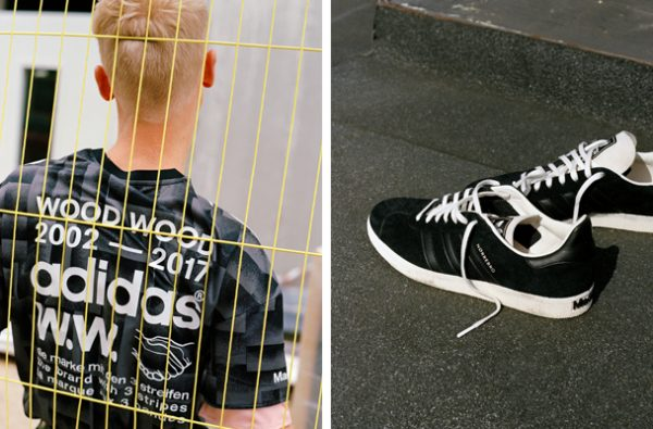 Wood Wood and adidas Originals Collaborate on a Football-Inspired Collection