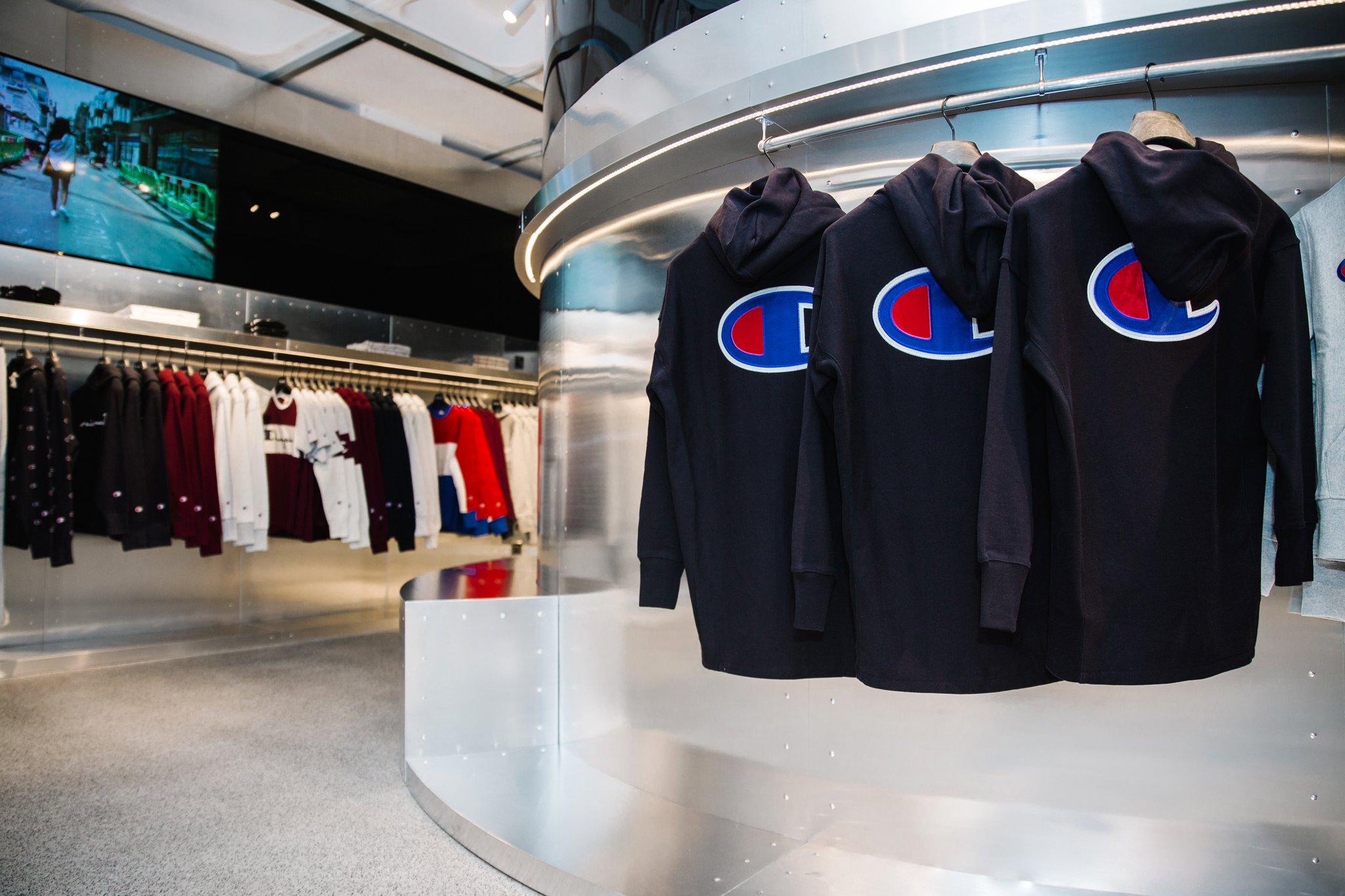 Champion Just Opened the Doors to Its New Flagship Store in Soho