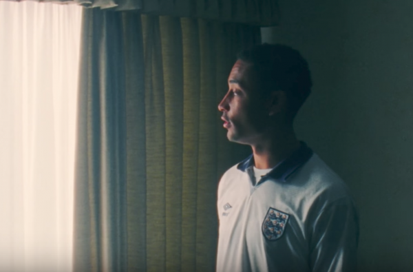 Loyle Carner Wears Iconic Retro England Shirt in New Visuals for 'Sun of Jean'