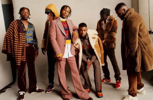 Section Boyz, J Hus and Loyle Carner Feature in October's British Vogue