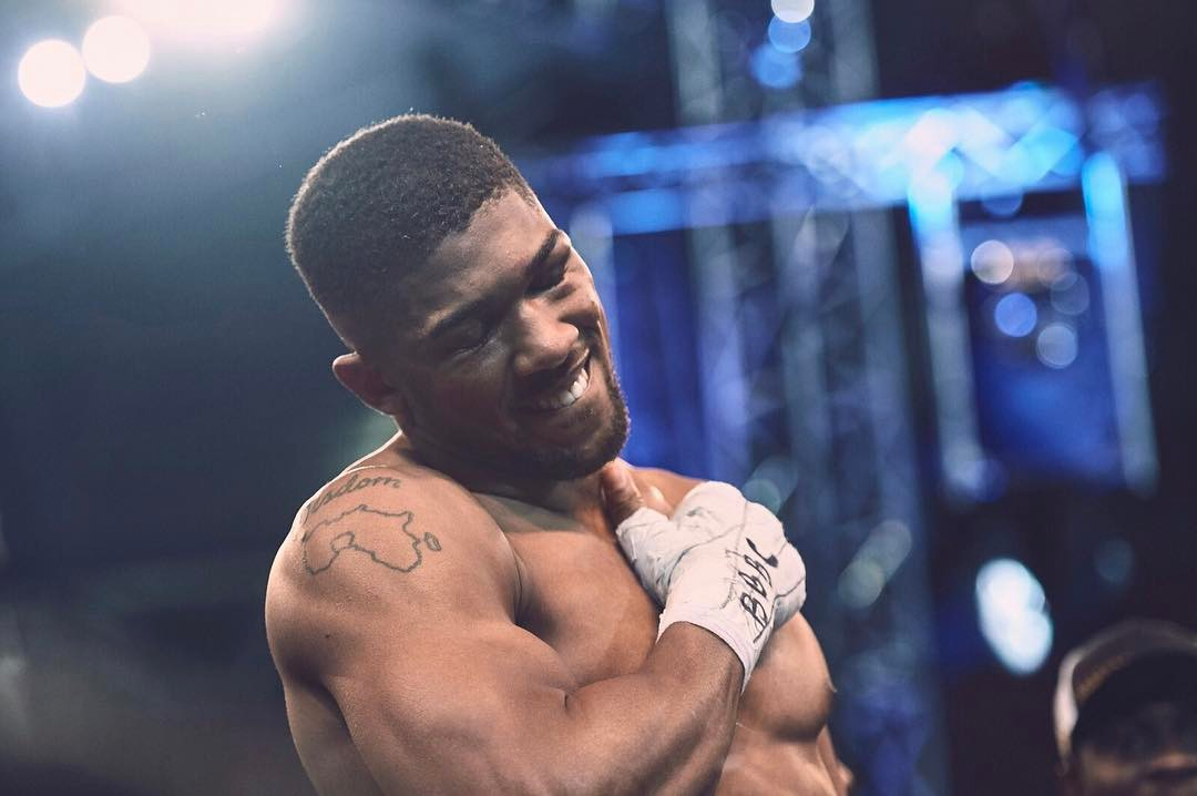 Anthony Joshua Nigeria Map Tattoos: Anthony Joshua Is The Champion Our Culture Has Always Needed