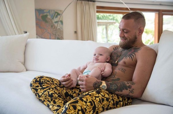 Conor McGregor Says He's Already Training His Son to Be a Fighter