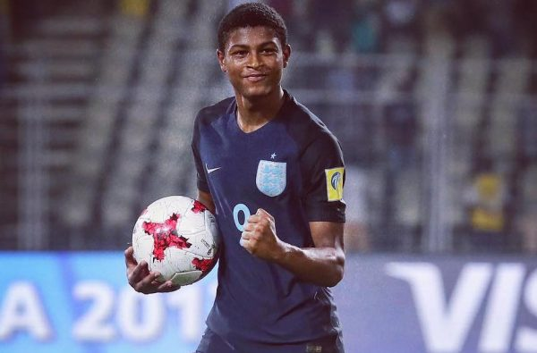 Rhian Brewster Just Scored Back-to-Back Hat-Tricks at the U17 World Cup