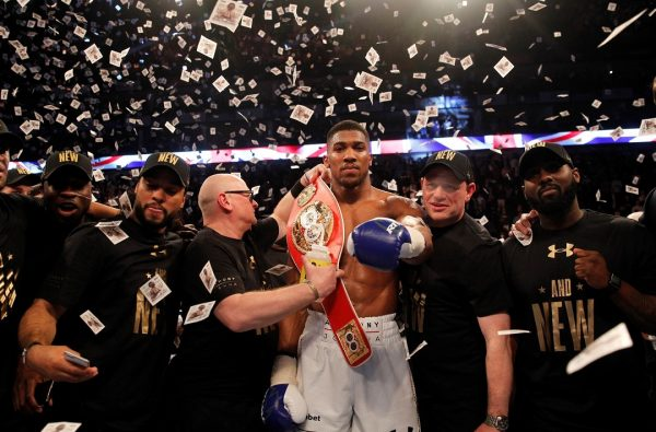 Anthony Joshua's Next Two Fights Will be at Wembley