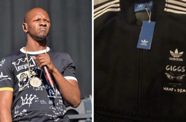 adidas Gave Giggs a Custom Tracksuit to Celebrate 'Wamp 2 Dem'