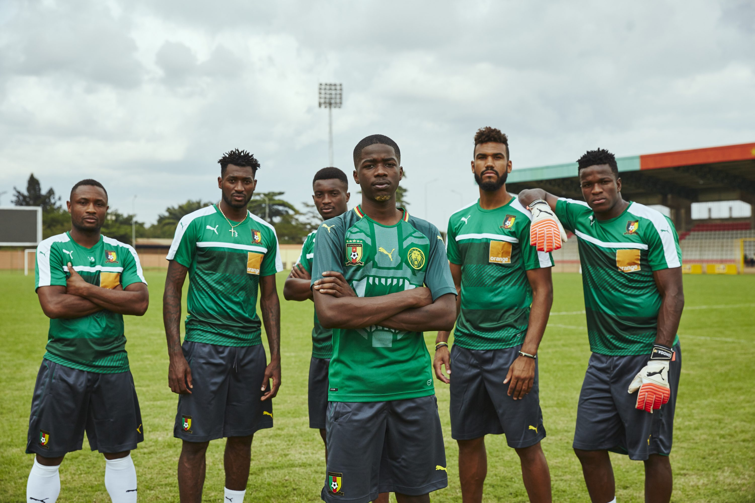 Cameroon and PUMA Just Dropped an Amazing New Home Kit 689cfbd0e