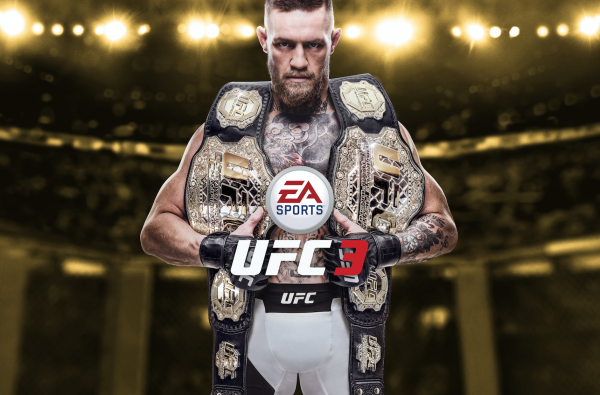 Conor McGregor Revealed as the Cover Star for EA Sports UFC 3