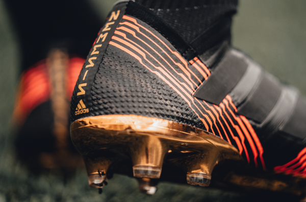 adidas Football Release NEMEZIZ in New Red, Black and Gold Colourway