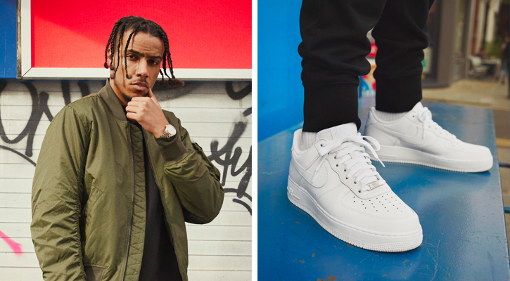 best website a8b8f acb0d Images via Nike. Four Londoners are sharing their takes on the Nike Air  Force 1.