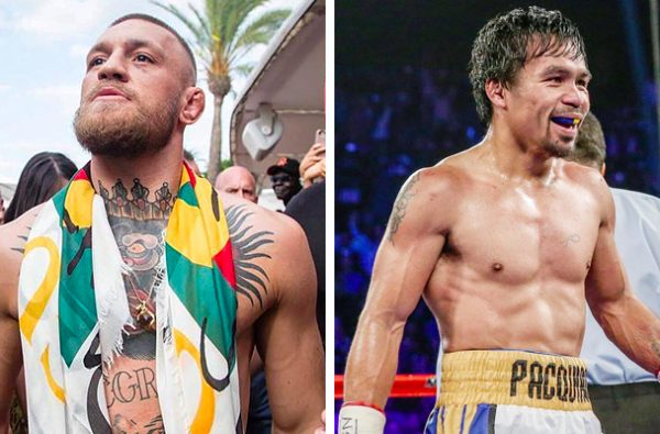 "Manny Pacquiao Just Challenged Conor McGregor to a ""Real Boxing Match"" via Instagram"