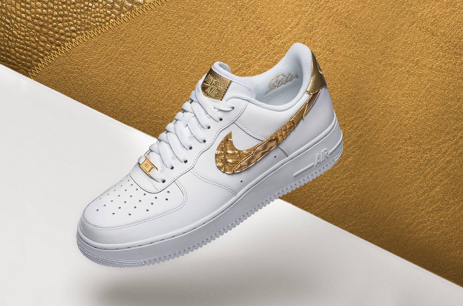 Nike Shoes Golden Swoosh