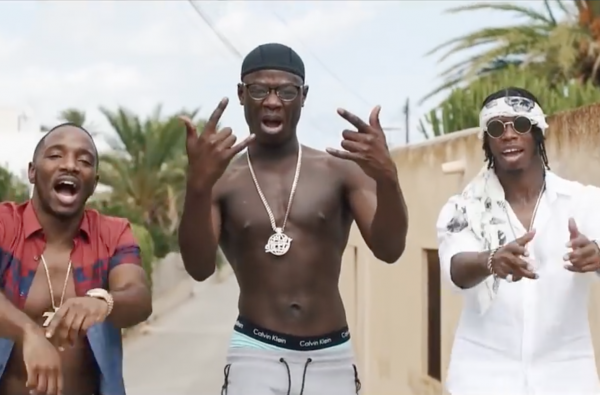 "J Hus Joins Krept & Konan in Ibiza For ""Get A Stack"" Video"