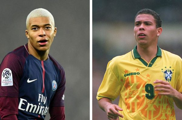 Kylian Mbappé Has Scored the Most Goals for a Teenager in a Single Year Since Ronaldo in 1995