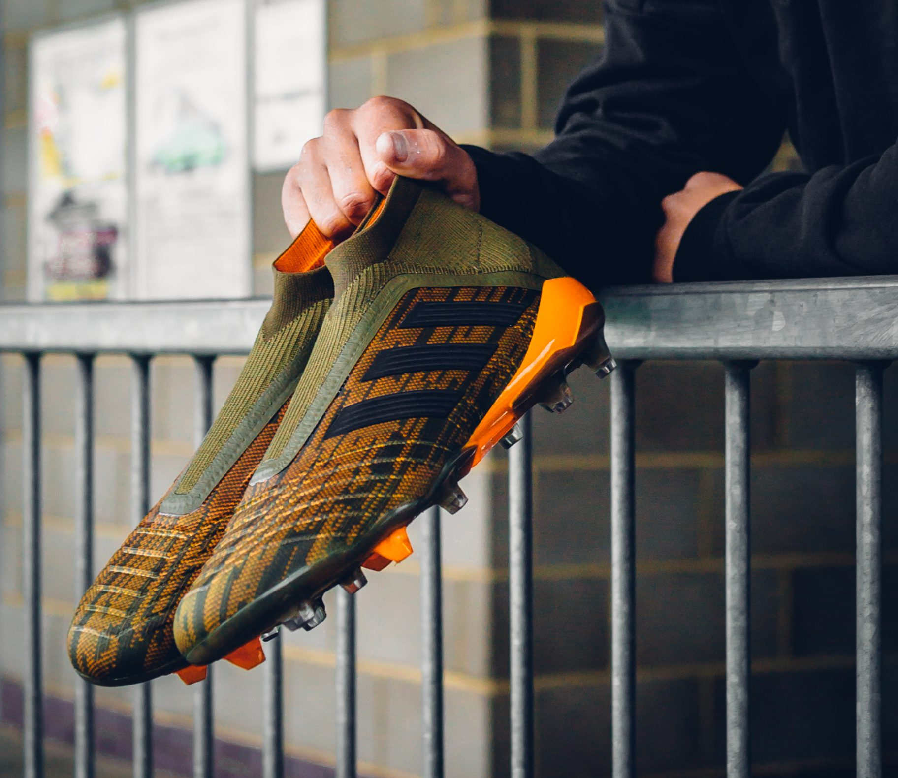 on sale da0e2 132ee adidas-lone-hunter-pack. Image via adidas Football