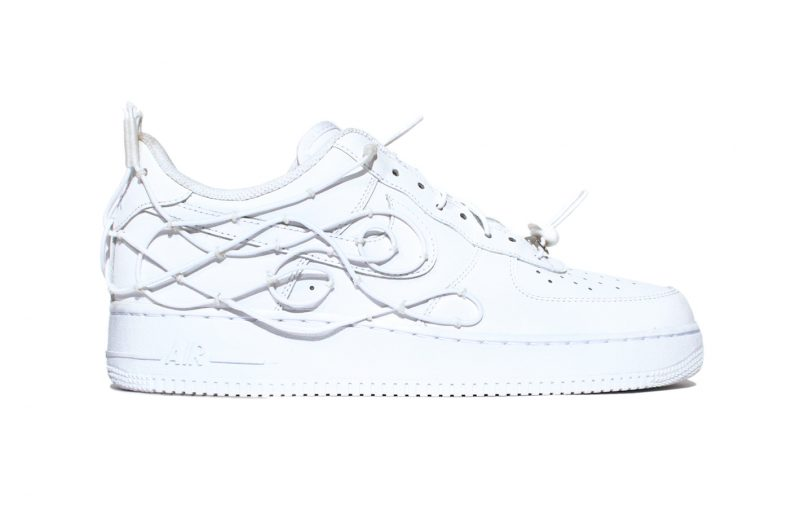 william francis green reinvents the nike air force one for new rtw collection