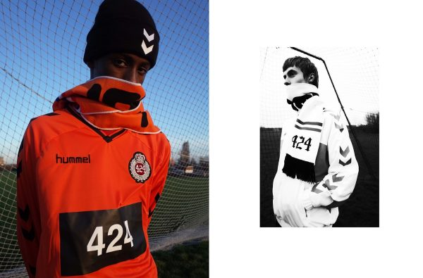 hummel and 424 Link up for Football-Themed Capsule Collection