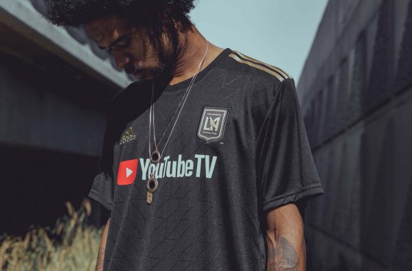 LAFC Launch YouTube TV-Sponsored adidas Home and Away 2018 Shirts