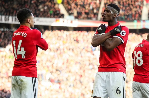 Jesse Lingard and Paul Pogba Turned The Wakanda Salute Into a Celebration