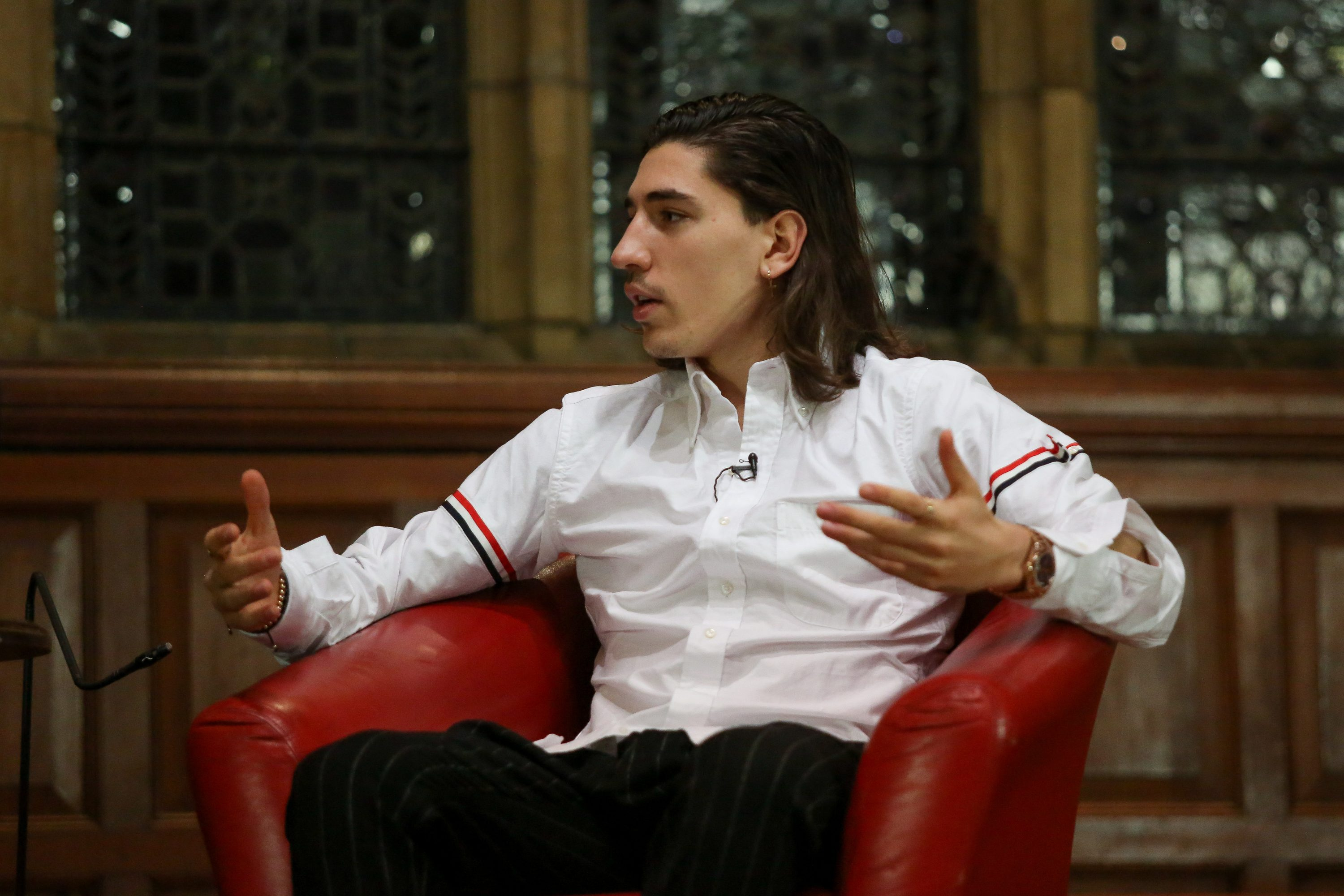 Image result for bellerin oxford union
