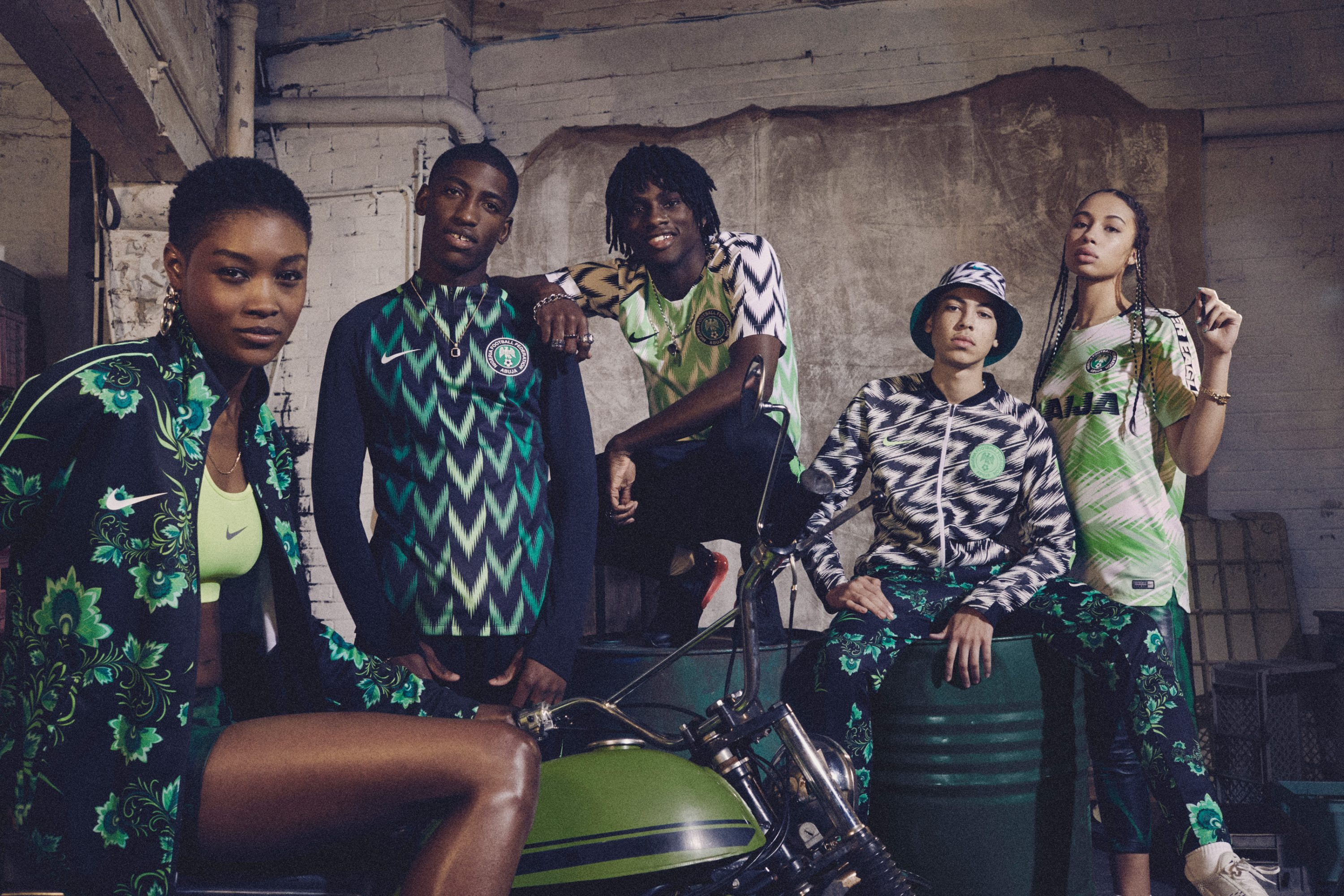 official photos 315c5 ec6f9 Nike and Nigeria Launch the 2018 World Cup Collection