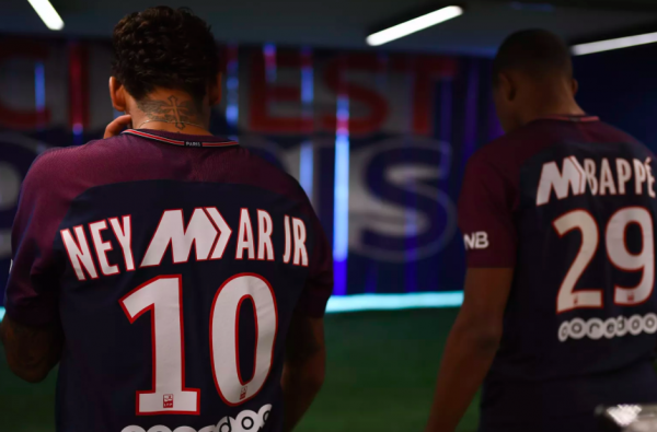 Nike Release Limited Edition PSG Mercurial Shirts for Neymar Jr and Kylian Mbappé