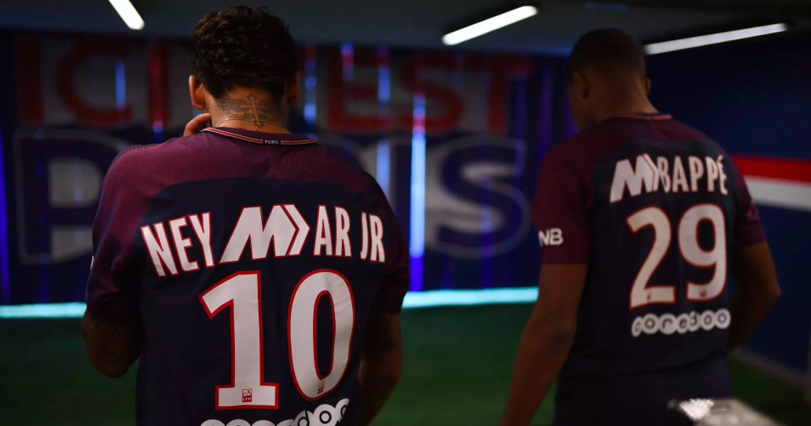 99fc1a11 Nike Release Limited Edition PSG Mercurial Shirts for Neymar Jr and ...