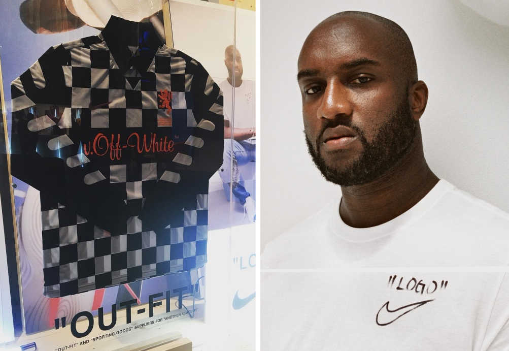 543c32134 Breaking Down the Inspirations Behind Virgil Abloh s Off-White™ Jersey for Nike  Football