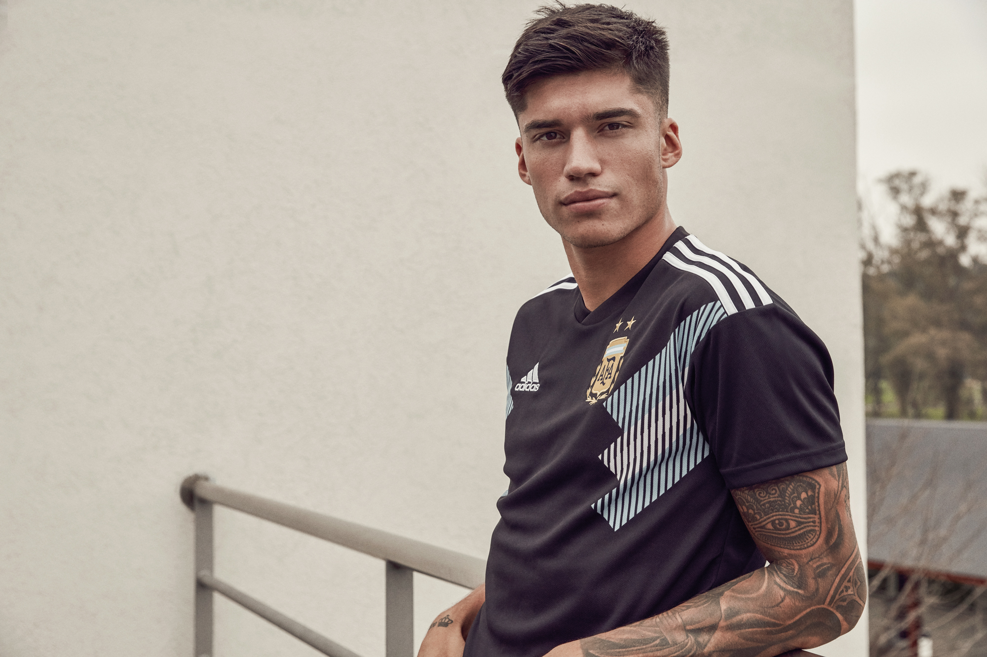 d928179f47b The 2018 away shirt is a re-working of the 1991 home jersey, featuring bold  graphics and a sign-off on the collar which celebrates important moments of  the ...