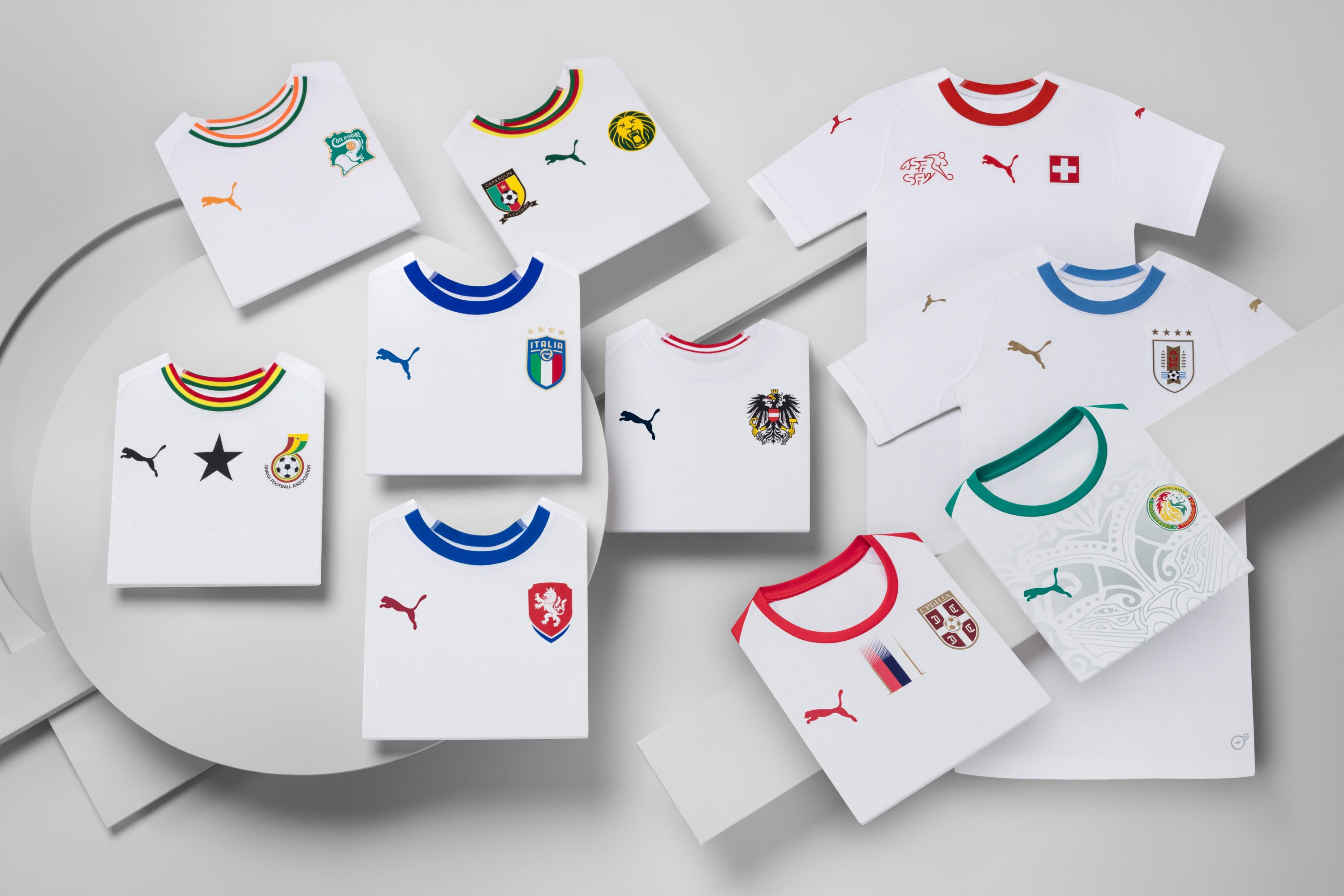 fb460cd78 PUMA Unveil Ultra Clean Collection of All-White International Away Kits