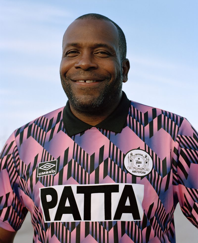 Patta And Umbro Unveil Their 90s-Inspired 2018 Jersey