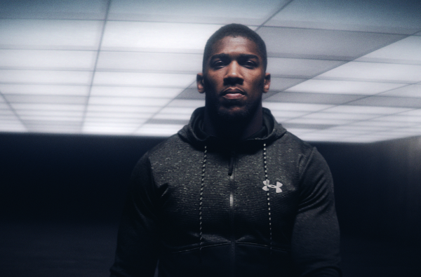 Anthony Joshua Showcases His Ice Cold Mentality in new Under Armour Film