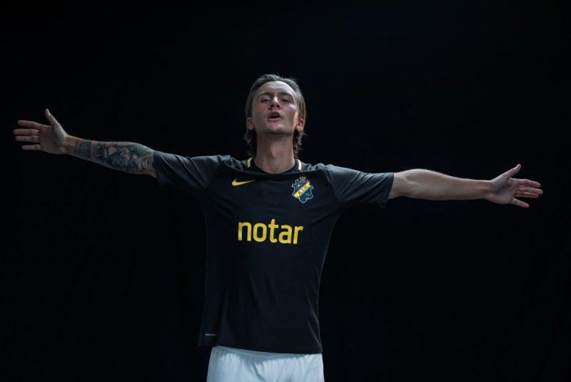 433c21d8de Nike Unveil Swedish Side AIK s Slick 2018 Home Shirt