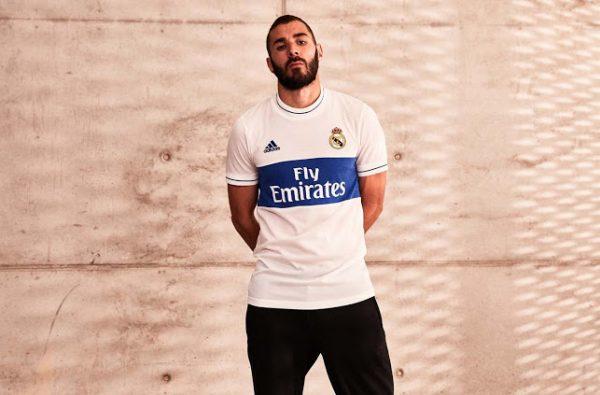 Karim Benzema Launches Real Madrid's New 'Icon' Shirt