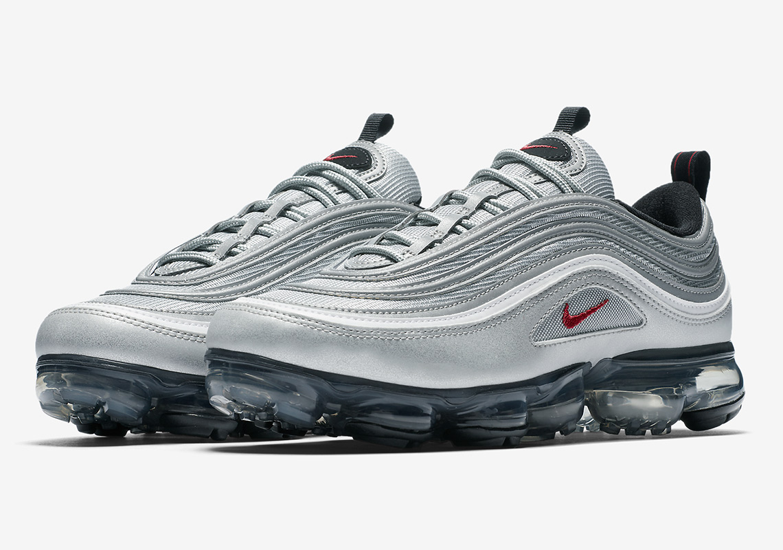 official photos 338d8 31b1f ... order nikes silver bullet air max 97 is getting a vapormax hybrid bcece  790fa