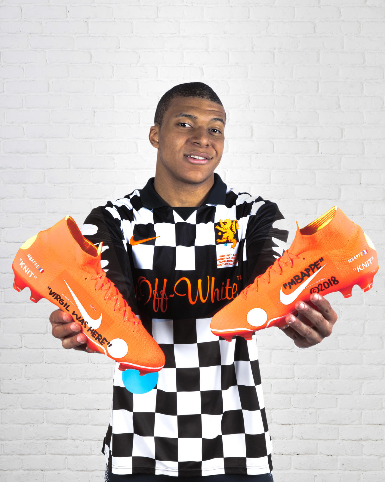 new product ac56a aba37 Kylian Mbappé Unveils the Limited-Edition Nike Mercurial ...