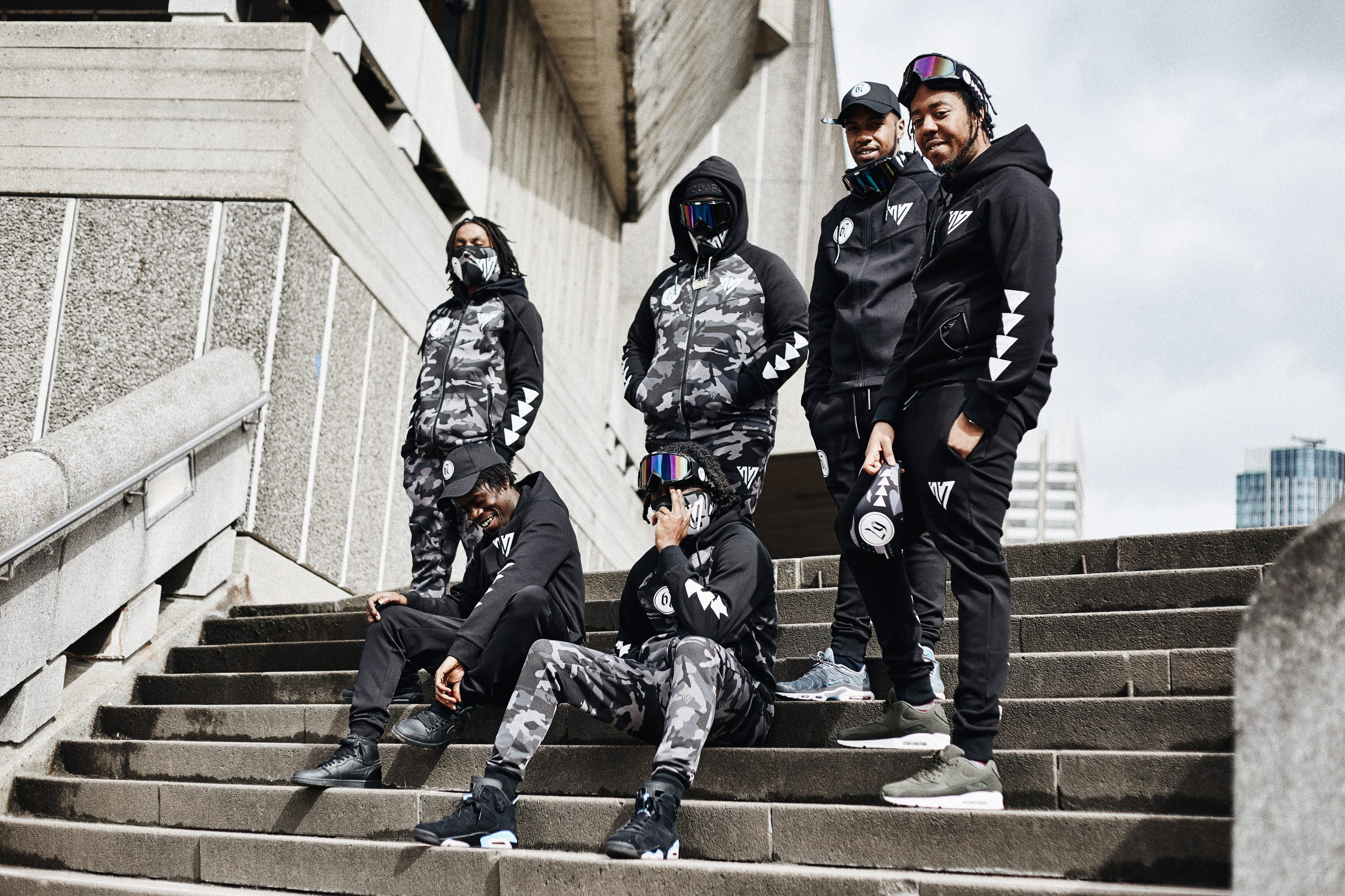 67 and Streetwear Brand 17 London Link Up For a Camo-Heavy