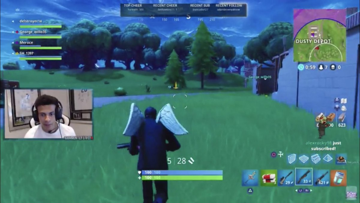 Dele Alli Streamed Himself Playing Fortnite Live On Twitch