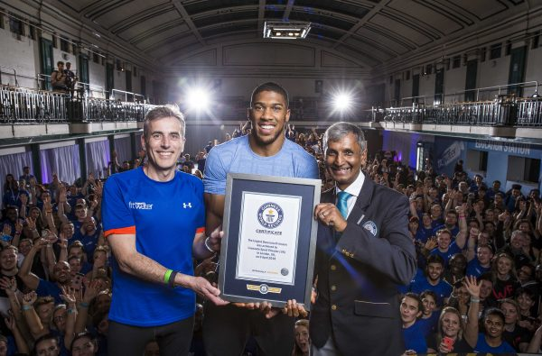 Anthony Joshua Just Smashed a Guinness World Record