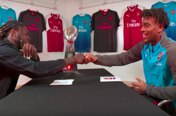 Watch Alex Iwobi Take on NFL Star Jay Ajayi with Some 'Rapid Fire' Questions