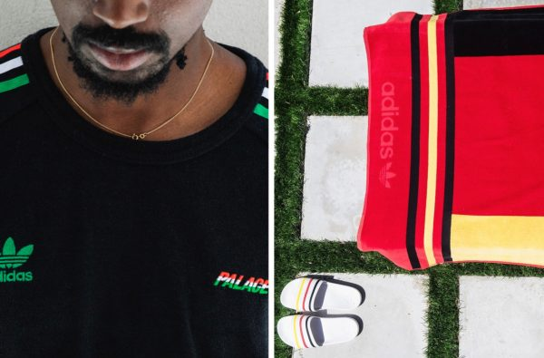 Palace and adidas Originals Link Up For German-Themed SS18 Collection