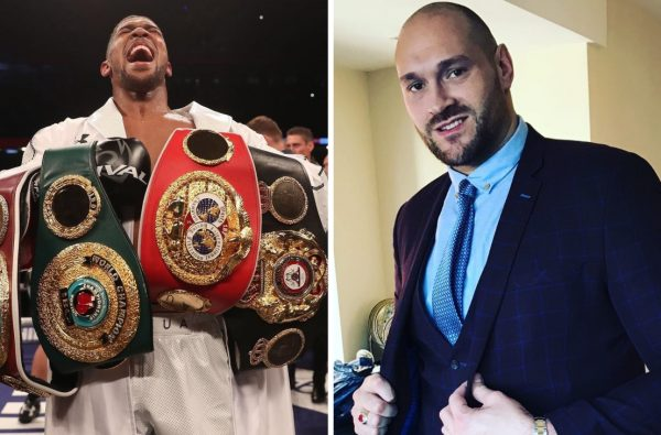 Tyson Fury Attacks Anthony Joshua Moments After Announcing His Comeback